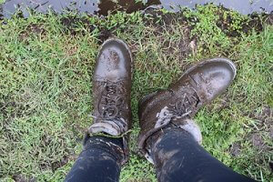 Perfects boots to wear for gorilla trekking