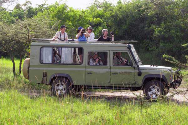 Game driving Experience in Akagera National Park