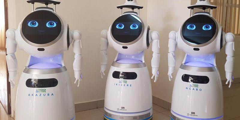 Fight Against Coronavirus By Robots In Rwanda